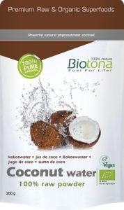 Biotona Kokosnusswasser Pulver