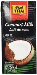 Real Thai Kokosnussmilch Tetra Pak